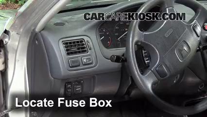 Interior Fuse Box Location: 1996-2000 Honda Civic - 2000 ...