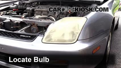 2000 Honda Prelude 2.2L 4 Cyl. Luces Luz de estacionamiento (reemplazar foco)