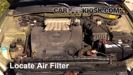 2000 Hyundai Sonata GLS 2.5L V6 Air Filter (Engine)