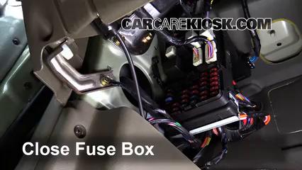 Interior Fuse Box Location: 1999-2001 Hyundai Sonata - 2000 Hyundai Sonata  GLS 2.5L V6 | 99 Hyundai Sonata Fuse Box |  | CarCareKiosk