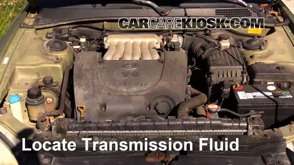 2000 Hyundai Sonata GLS 2.5L V6 Transmission Fluid