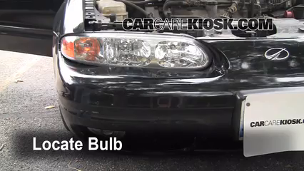 2000 Oldsmobile Alero GL 3.4L V6 Sedan (4 Door) Lights Headlight (replace bulb)