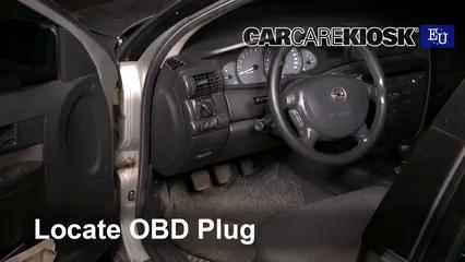 2000 Opel Omega GLS 2.2L 4 Cyl. Compruebe la luz del motor