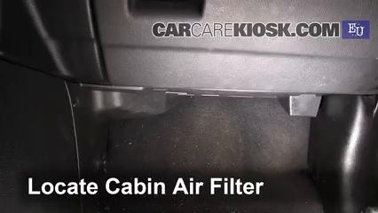 2000 Opel Zafira DTI Life 2.0L 4 Cyl. Turbo Diesel Filtro de aire (interior)