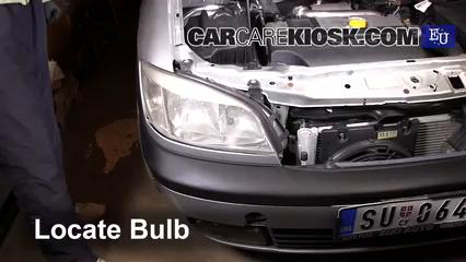 2000 Opel Zafira DTI Life 2.0L 4 Cyl. Turbo Diesel Luces Faro delantero (reemplazar foco)