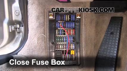 interior fuse box location: 1998-2005 porsche 911 - 2000 porsche 911 carrera  4 3.4l 6 cyl. convertible  carcarekiosk