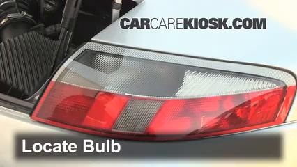 2000 Porsche 911 Carrera 4 3.4L 6 Cyl. Convertible Luces Luz de giro trasera (reemplazar foco)
