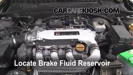 2000 Saturn LS2 3.0L V6 Brake Fluid