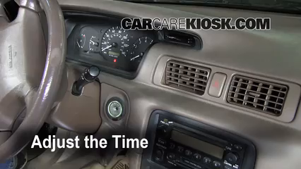 2000 Toyota Camry CE 2.2L 4 Cyl. Clock
