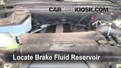 2001 BMW X5 3.0i 3.0L 6 Cyl. Brake Fluid Check Fluid Level