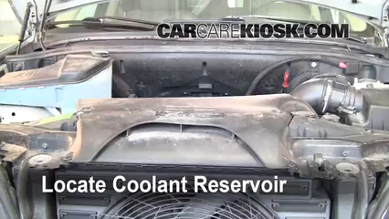 2001 BMW X5 3.0i 3.0L 6 Cyl. Fluid Leaks Coolant (Antifreeze) (fix leaks)