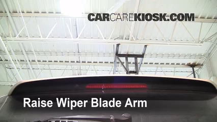 2001 BMW X5 3.0i 3.0L 6 Cyl. Windshield Wiper Blade (Rear) Replace Wiper Blade
