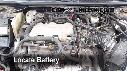 2001 Chevrolet Impala 3.4L V6%2FBattery Locate Part 1 battery replacement 2000 2005 chevrolet impala 2001 chevrolet Line Output Converter Wiring Diagram at reclaimingppi.co