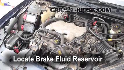 Adding Brake Fluid >> Add Brake Fluid 2000 2005 Chevrolet Impala 2001 Chevrolet