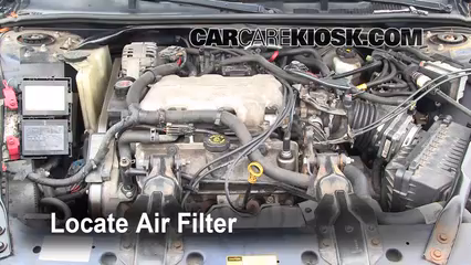 2001 Chevrolet Impala 3.4L V6 Air Filter (Engine)