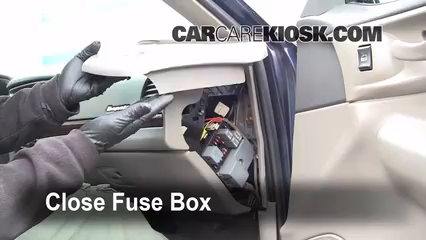 Interior fuse box location 2000 2005 chevrolet impala for 2002 chevy impala window problems