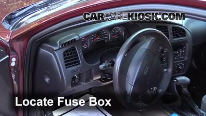 interior fuse box location 2000 2005 chevrolet monte carlo 2002 rh carcarekiosk com 2002 monte carlo fuse box diagram 1985 Monte Carlo Fuse Box Diagram