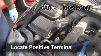 2001 Chrysler LHS 3.5L V6 Battery Jumpstart