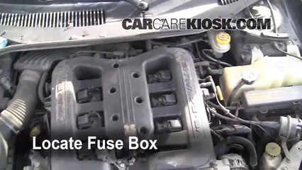 2001 Chrysler LHS 3.5L V6 Fuse (Engine) Replace