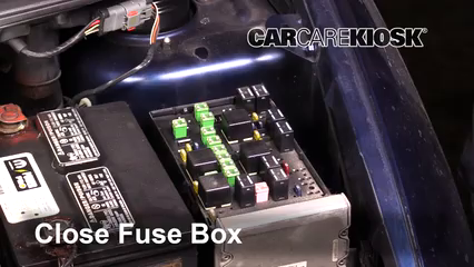 interior fuse box location: 2001-2004 dodge grand caravan - 2001 dodge  grand caravan sport 3 3l v6