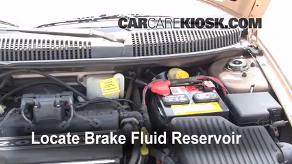 2001 Dodge Neon 2.0L 4 Cyl. Brake Fluid