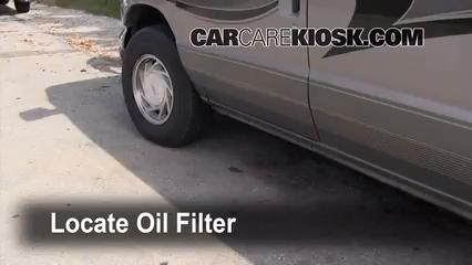 Oil Filter Change Ford E 150 Econoline Club Wagon 1990