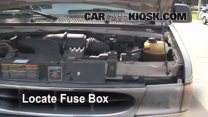 replace a fuse 1990 2007 ford e 150 econoline club wagon 2001 Ball Joint 2001 Ford E-150 at Fuse Box For Ford E 150 2001