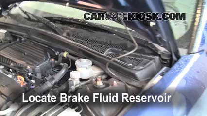 2001 Honda Civic EX 1.7L 4 Cyl. Coupe (2 Door) Brake Fluid Check Fluid Level