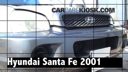 2001 Hyundai Santa Fe GL 2.4L 4 Cyl. Review