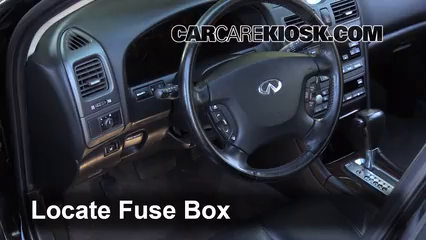 [DIAGRAM_5UK]  Interior Fuse Box Location: 2000-2004 Infiniti I30 - 2001 Infiniti I30 T  3.0L V6 | Infiniti I30 Fuse Box Location |  | CarCareKiosk