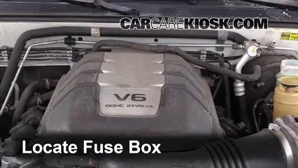 Replace a Fuse 19982004 Isuzu Rodeo 2001 Isuzu Rodeo LS 32L V6 – Isuzu Rodeo Fuse Box