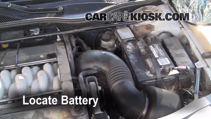 2001 Lincoln Continental 4.6L V8 Battery Clean Battery & Terminals