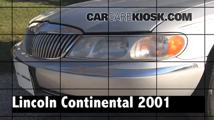 2001 Lincoln Continental 4.6L V8 Review
