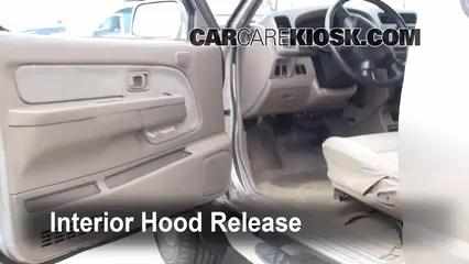Open Hood How To 1998-2004 Nissan Frontier - 2001 Nissan