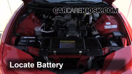 2001 Pontiac Firebird 3.8L V6 Convertible Battery