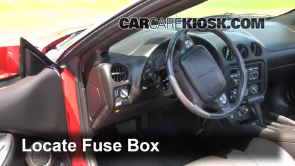 1998 pontiac firebird fuse box interior fuse box location: 1993-2002 pontiac firebird ...