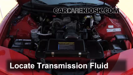 2001 Pontiac Firebird 3.8L V6 Convertible Transmission Fluid