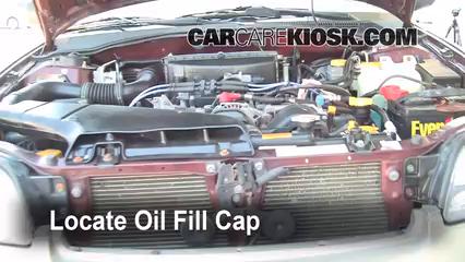 2001 subaru legacy oil type