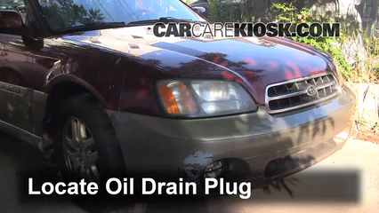 2001 Subaru Outback Limited 2.5L 4 Cyl. Wagon Oil Change Oil and Oil Filter