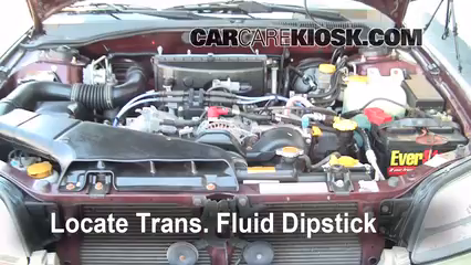 2001 Subaru Outback Limited 2.5L 4 Cyl. Wagon Fluid Leaks Transmission Fluid (fix leaks)