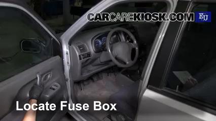 2001 montana fuse box interior fuse box location 2000 2006 suzuki ignis 2001 suzuki  interior fuse box location 2000 2006
