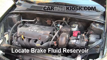 Adding Brake Fluid >> Add Brake Fluid 2000 2005 Toyota Echo 2001 Toyota Echo