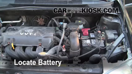 2001 Toyota Echo 1.5L 4 Cyl. (4 Door) Battery