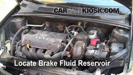 2002 toyota echo manual transmission fluid