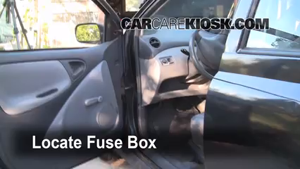 interior fuse box location 2000 2005 toyota echo 2001 toyota echo rh carcarekiosk com