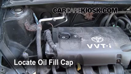 2001 Toyota Echo 1.5L 4 Cyl. (4 Door) Oil