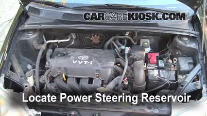 Fix Power Steering Leaks Toyota Echo 20002005 2001. 2001 Toyota Echo 15l 4 Cyl Door Fluid Leaks Power Steering. Toyota. 2001 Toyota Fluid Diagrams At Scoala.co