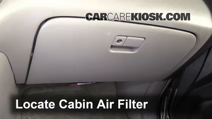 2001 Toyota Highlander 3.0L V6 Air Filter (Cabin)