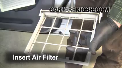 Nice Insert The Filter And Put Everything Back In Place