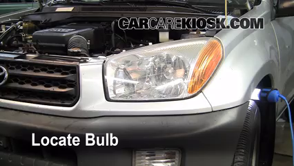 2001 toyota tundra headlight replacement